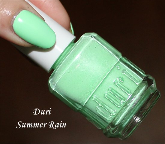 Duri Summer Rain Swatches & Review