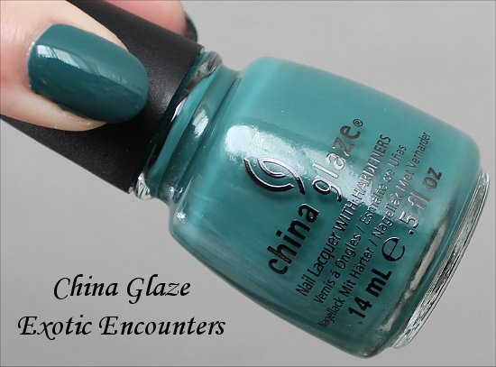 Exotic Encounters China Glaze Swatch &amp; Review