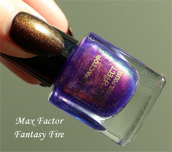 Fantasy Fire by Max Facter Swatch &amp; Review