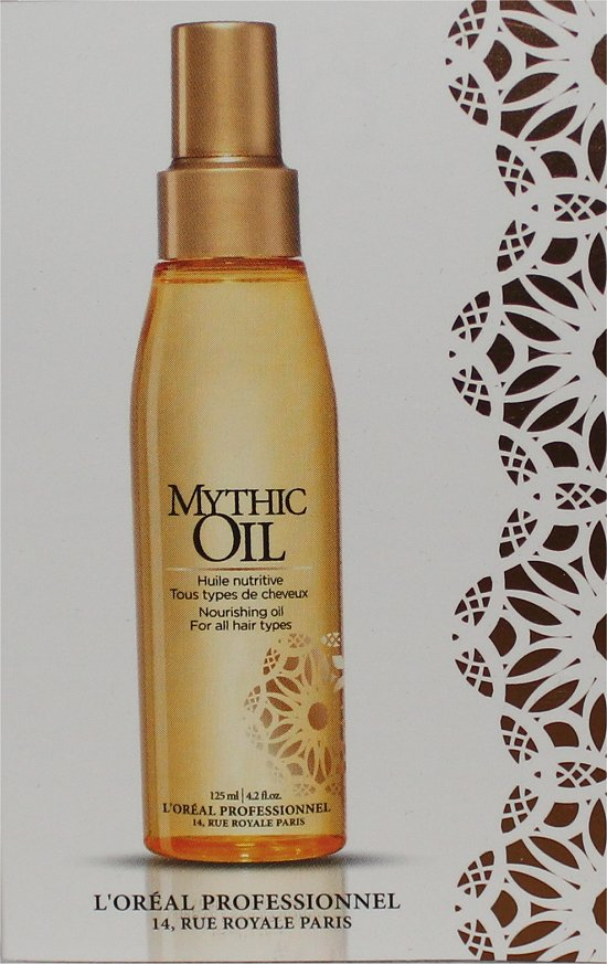L'Oreal Mythic Oil Loose Button Luxe Box June 2012