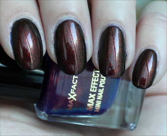Max Factor Fantasy Fire Review &amp; Swatch