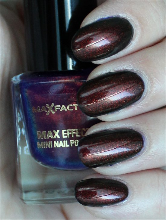 Max Factor Fantasy Fire Swatches & Review