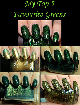 My Top 5 Favourite Greens