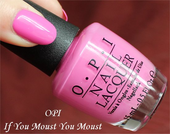 OPI If You Moust You Moust Swatches & Review