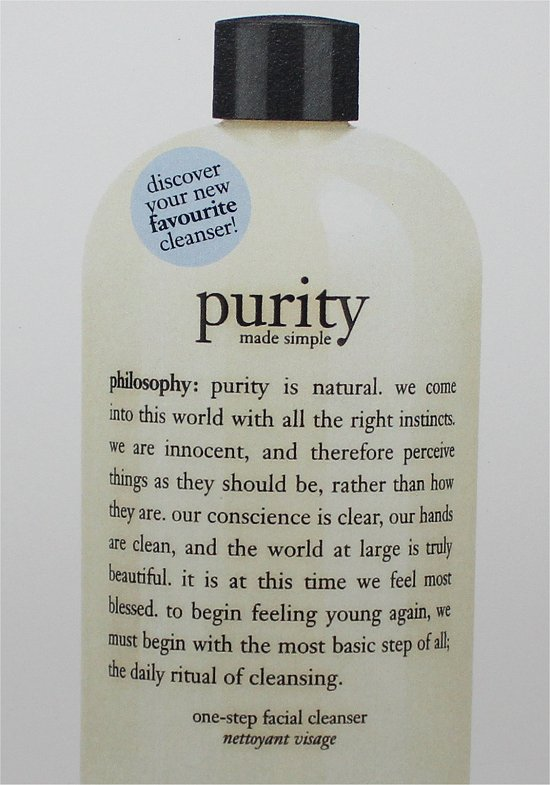 Purity Facial Cleansers