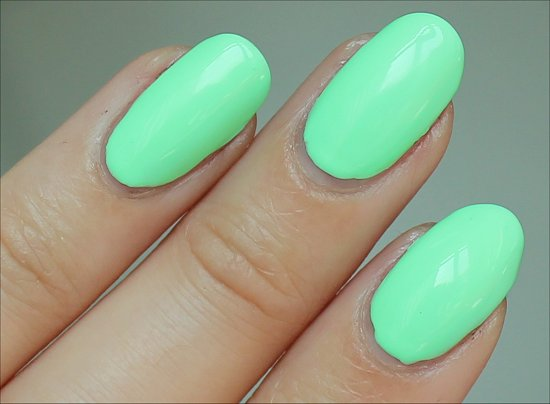 Summer Rain Duri Nail Polish Strictly Summer Collection 2012