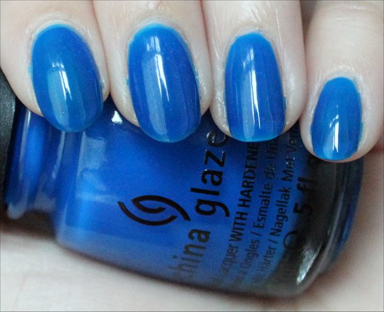 Surf the Waves by China Glaze Review & Swatch