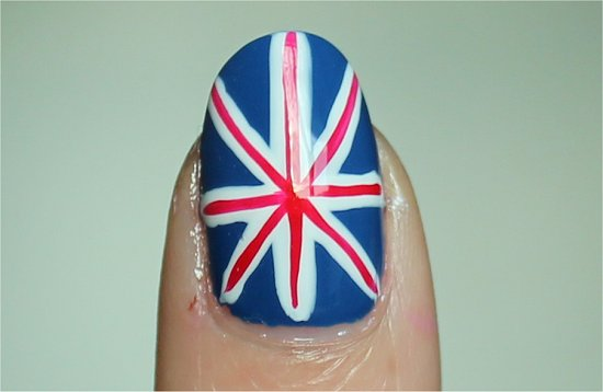 Union Jack Nails Nail-Art Swatches & Tutorial
