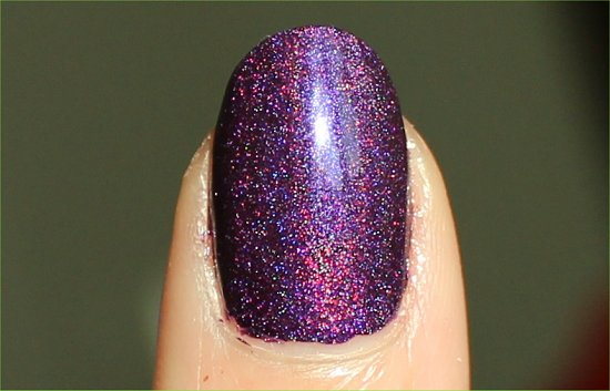 Wild At Heart by Color Club Review & Swatch Purple Holographic Polish