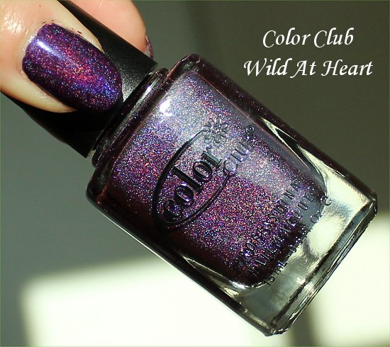 Wild At Heart by Color Club Swatch, Review & Pics