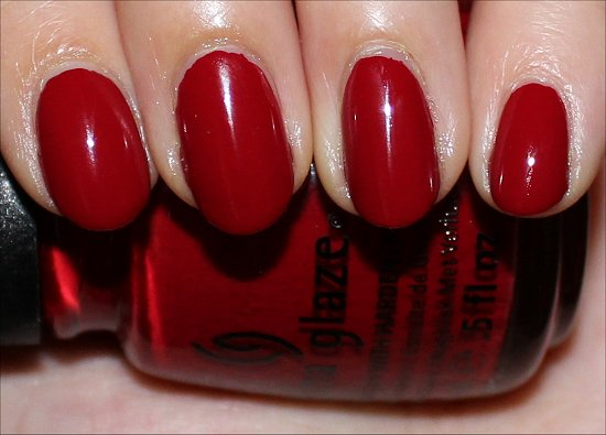 Adventure Red-y China Glaze On Safari Collection Swatches & Review