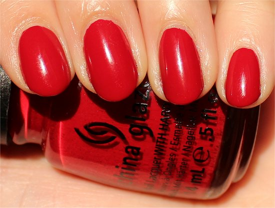 Adventure Red-y China Glaze On Safari Collection