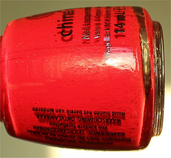 Adventure Red-y by China Glaze