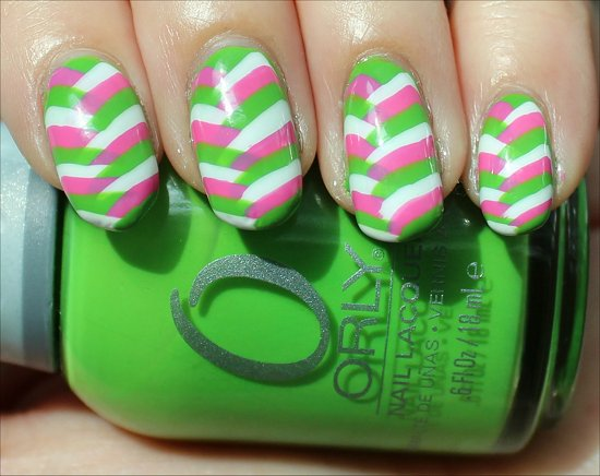 Braided Fishtail Nail Art Nails Swatches