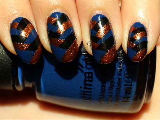 Braided Fishtail Nails Nail Art Tutorial Pictures & Instructions