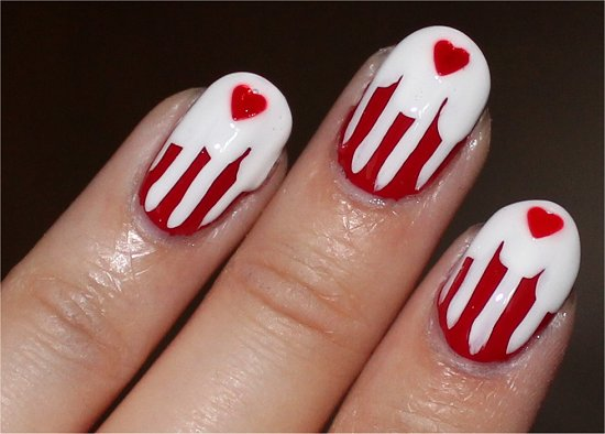 Canada Day Nails Nail Art Photos
