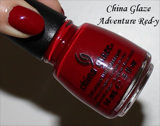 China Glaze Adventure Ready Swatches & Review