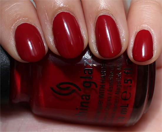 China Glaze Adventure Red-y China Glaze On Safari Swatches & Review