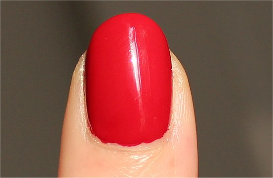 China Glaze Adventure Red-y Pictures & Review