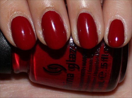 China Glaze Adventure Red-y Review & Swatches