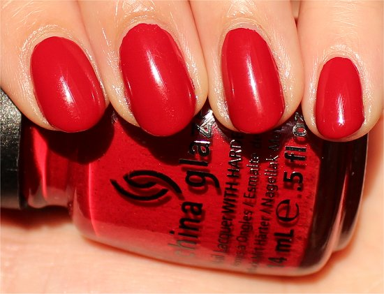 China-Glaze-Adventure-Red-y-Swatches-Review-Photos