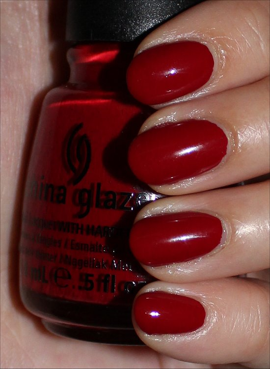 China Glaze Aventure Red-y Swatches & Review