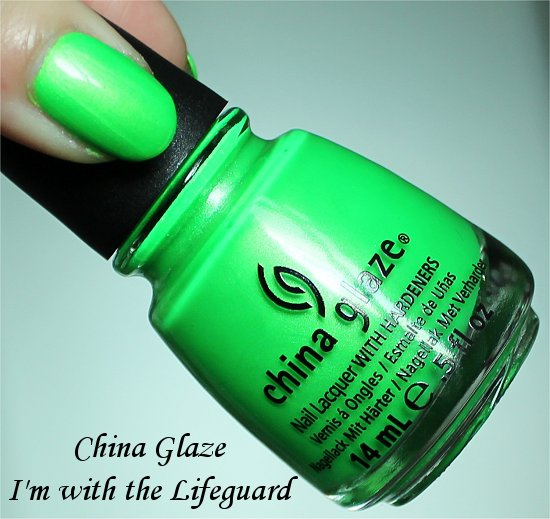 China Glaze I'm with the Lifeguard Review, Swatch & Pictures