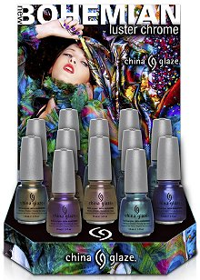 China Glaze New Bohemian Collection Press Release & Promo Pictures
