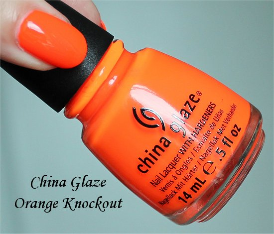 China-Glaze-Orange-Knockout-Pictures-Photos-Review