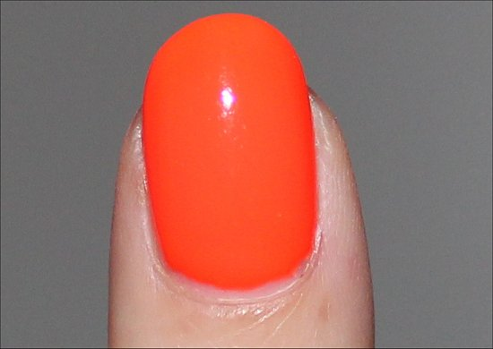 China Glaze Orange Knockout Review & Swatch