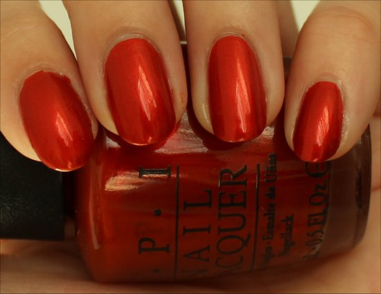 Deutsche You Want Me Baby by OPI Swatch