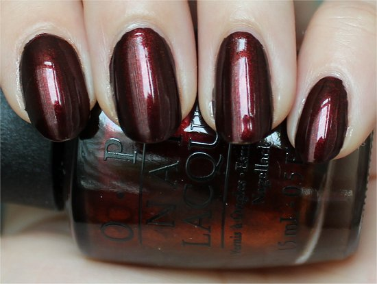 Every Month Is Oktoberfest OPI Germany Collection Swatches & Photos