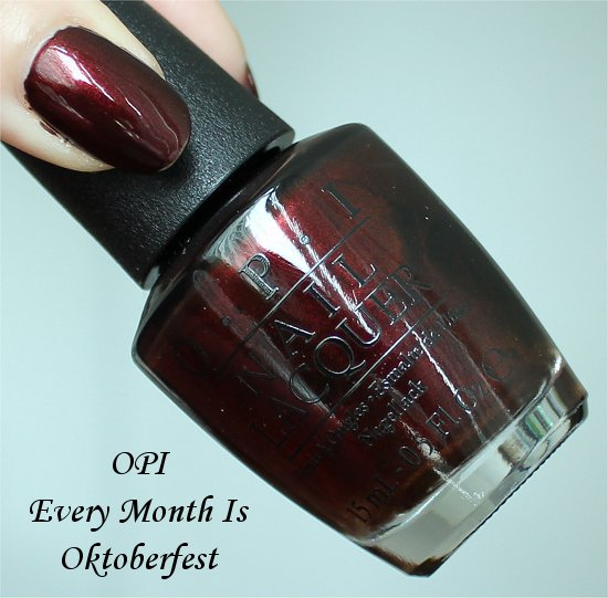 Every Month Is Oktoberfest by OPI Swatches, Review &amp; Pictures