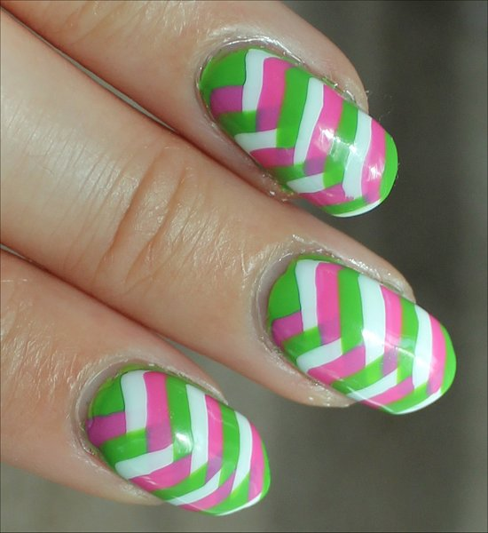 Fishtail Braid Nail Art Nails Photos