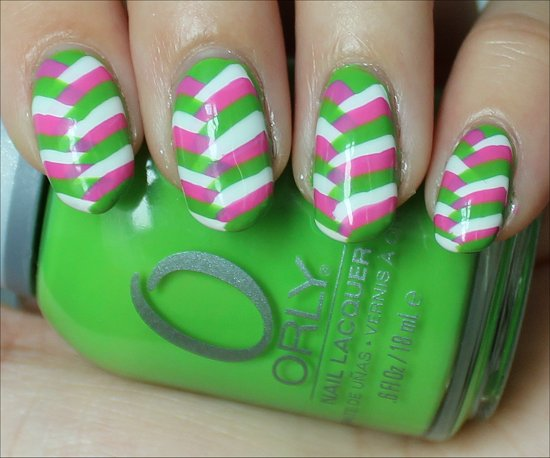 Fishtail Braid Nails Nail-Art Photos
