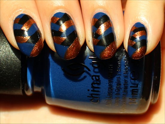 Fishtail Braided Nails Nail-Art Tutorial & Pictures