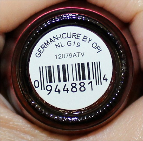 Germanicure by OPI Swatch, Review & Pictures