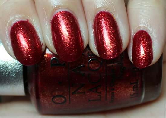 Indulgence OPI Designer Series Nail Polish Swatches & Reviews