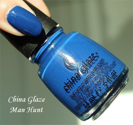 Man Hunt by China Glaze Review & Swatch