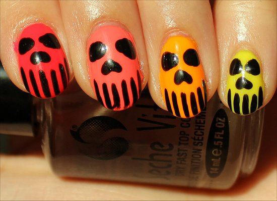 Neon-Skull-Nails-Nail-Art-Pictures