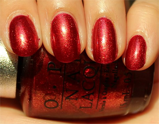 OPI DS Indulgence Review & Swatch