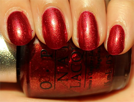 OPI DS Indulgence Review & Swatches