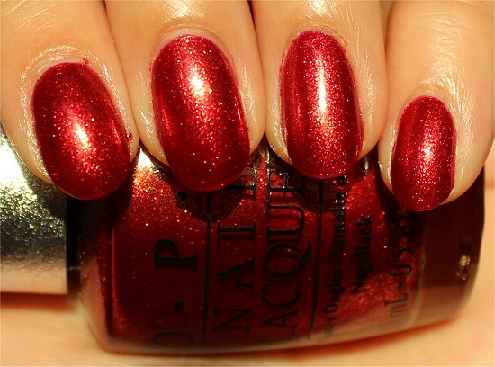 OPI DS Indulgence Swatch & Review