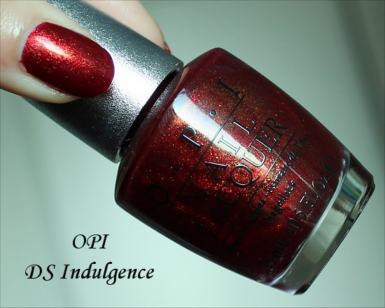 OPI DS Indulgence Swatches & Review
