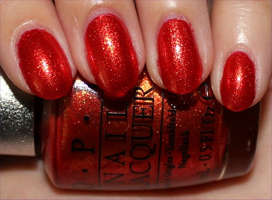 OPI DS Luxurious Swatches, Review & Photos