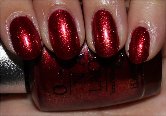 OPI Designer Series Indulgence Swatch & Review