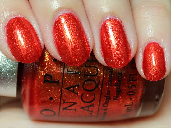 OPI Designer Series Luxurious Swatch & Review