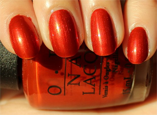 OPI Deutsche You Want Me Baby Review &amp; Swatch