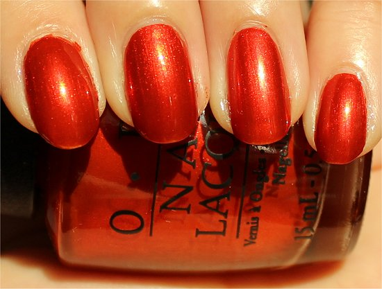 OPI Deutsche You Want Me Baby Swatch &amp; Review