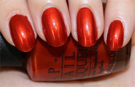 OPI Deutsche You Want Me Baby Swatches &amp; Review Germany Collection